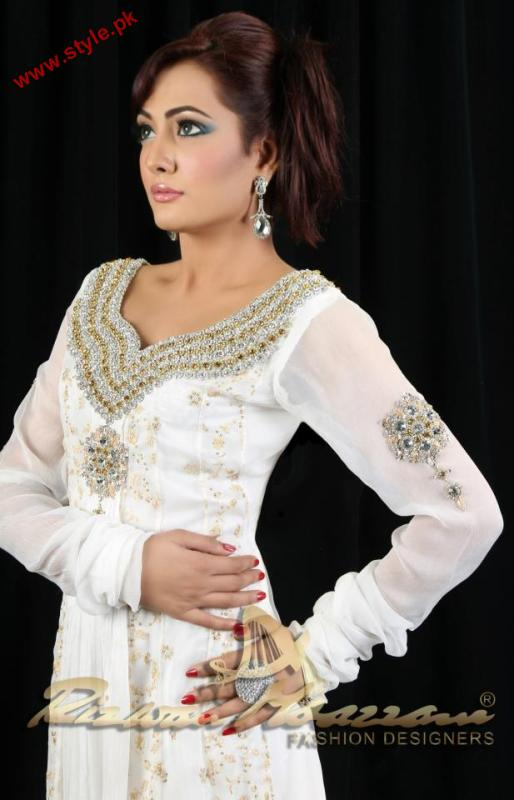 Latest Evening Wear Collection For Women By Rizwan Moazzam 2012 005 pakistani dresses