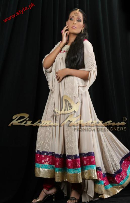 Latest Evening Wear Collection For Women By Rizwan Moazzam 2012 006 pakistani dresses