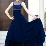Latest Fashion Frock Collection for women 2012 12