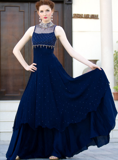 Latest Frock Fashion Trend For Women 2012