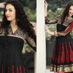 Latest Fashion Frock Collection for women 2012 13