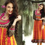 Latest Fashion Frock Collection for women 2012 8