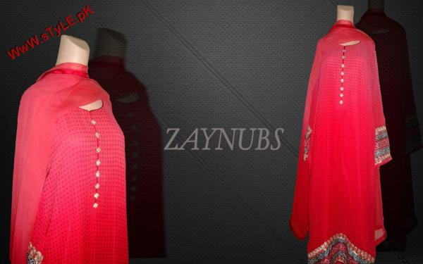 Latest Formal Wear Collection for Winter By Zaynubs 2012 002 pakistani dresses