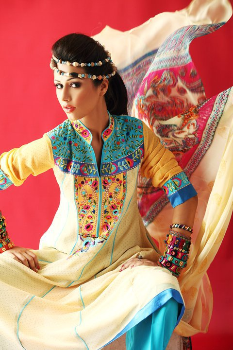 Latest Ready to Wear dresses 2012 by Kashish a designer dresses