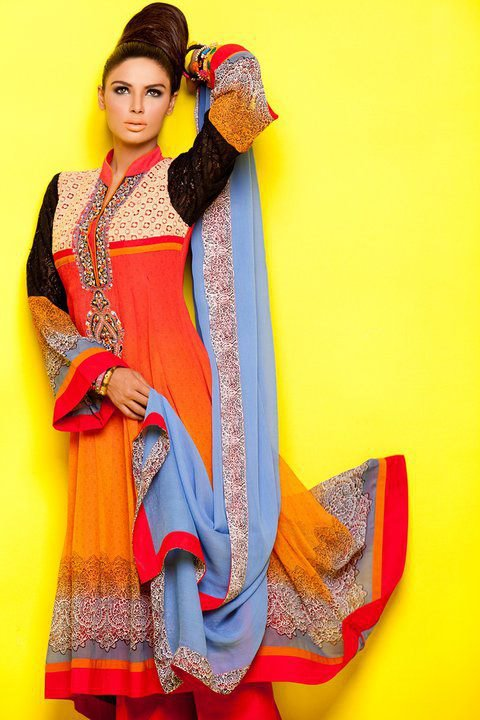Latest Ready to Wear dresses 2012 by Kashish e designer dresses