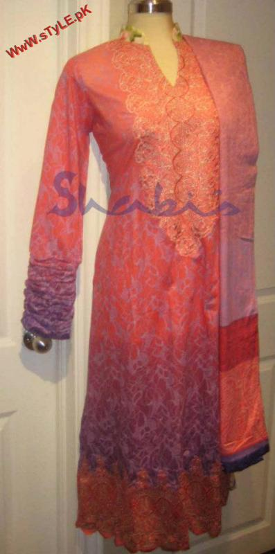 Latest Winter Collection For Women By Shabis 2012 006 for women local brands