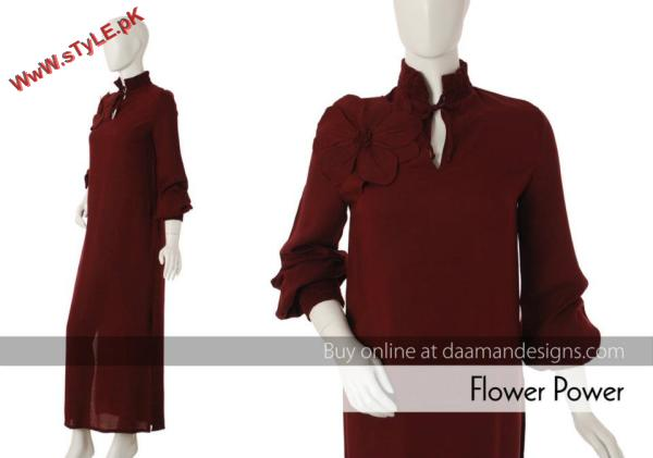 Latest Winter Women Casual Wear By Daaman 2012 003 for women local brands