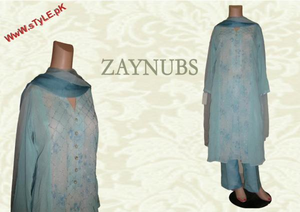 Latest Zaynubs Winter Collection 2012 004 pakistani dresses