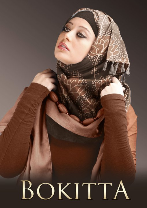 Latest fashion Matching Head Scarves 2012 by Bokitta 1