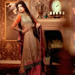 Maria B Bridal Studio Latest Bridal Wear 2012 01