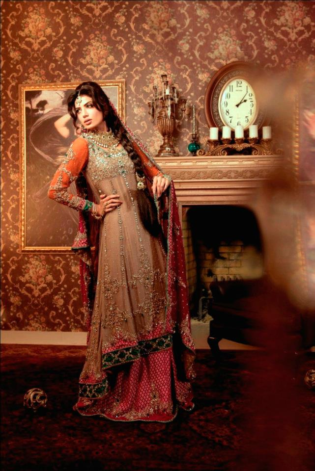 Maria B Bridal Studio Latest Bridal Wear 2012 01 designer dresses bridal dresses