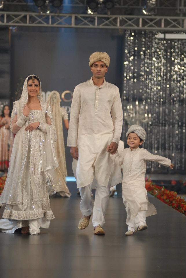Nida Azwer Collection in PFDC LOreal Paris Bridal Week d bridal dresses