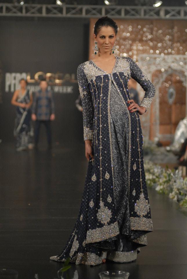 Rouge Bridal Dresses in PFDC L\'Oreal Paris Bridal week