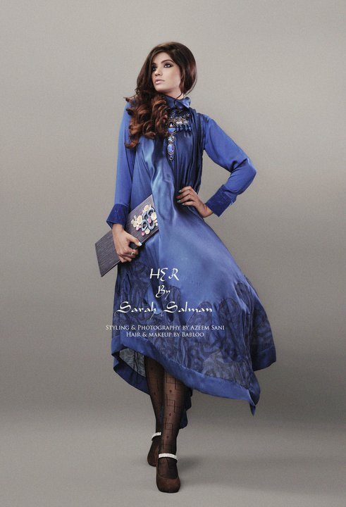 Sarah Salman Latest Pret Wear 2012 For Women h designer dresses