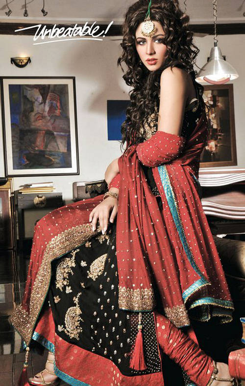Shehla Rehman Bridal Collection 2012 by Unbeatable 01