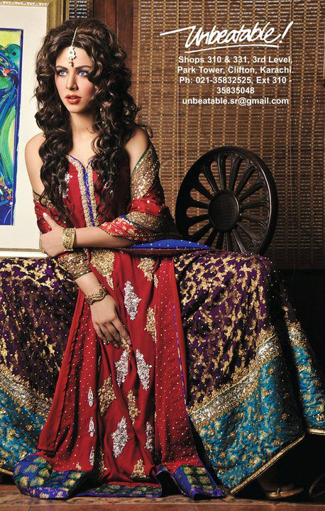 Shehla Rehman Bridal Collection 2012 by Unbeatable 03