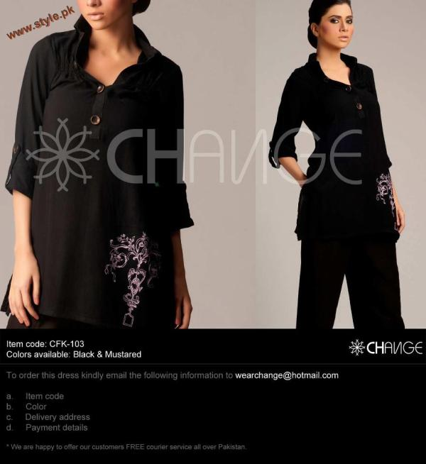 502dd01200 Latest Winter Casual Wear Collection 2012 By Change