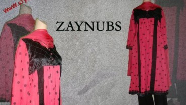 Zaynubs Winter Evening Wear For Women 2012-005