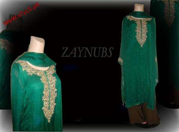 Zaynubs Winter Evening Wear For Women 2012 006 pakistani dresses