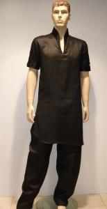 black kurta shalwar for men (7)