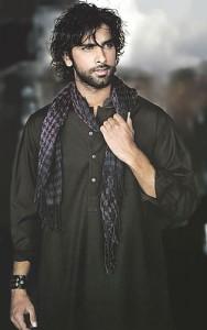 black kurta shalwar for men (6)