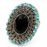 Latest fashion of big stylish Rings for Girls