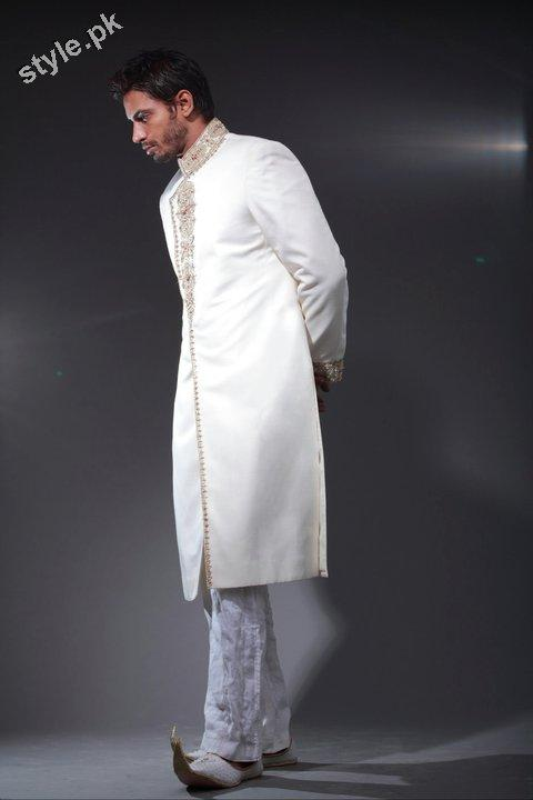 Arsalan Yahseer Latest Groom Sherwani Collection 2012 6 men wear