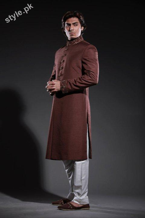 Arsalan Yahseer Latest Groom Sherwani Collection 2012 7 men wear