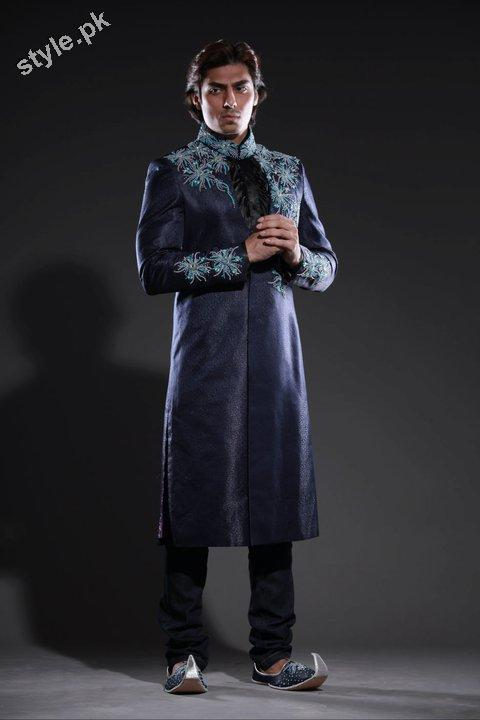 Arsalan Yahseer Latest Groom Sherwani Collection 2012 8 men wear