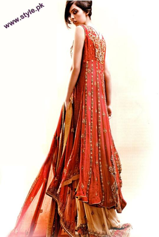 Bridal Wear For Winter By Hina Khan Collection 2012 005 pakistani dresses bridal dresses