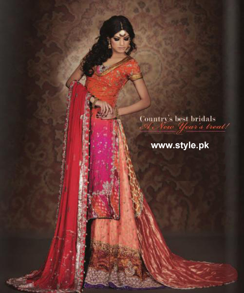 Countrys Best Bridals 2012 by Top Pakistani Designers a wedding wear local designer clothes for women hsy designer