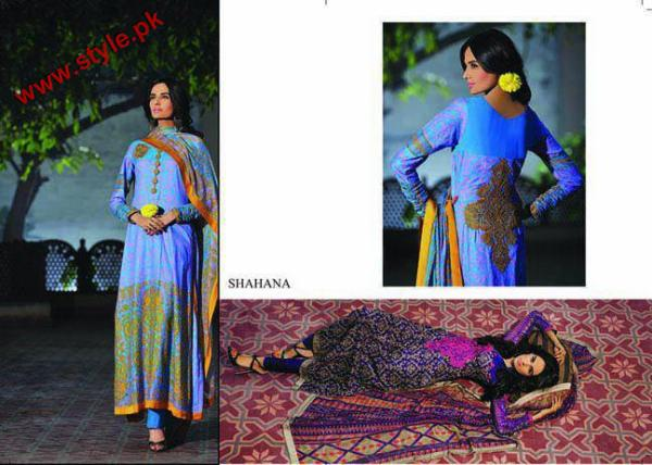Embroidered KESA Lawn By Sana Samias 2012 006 pakistani dresses