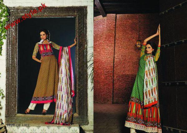 Embroidered KESA Lawn By Sana Samias 2012 007 pakistani dresses