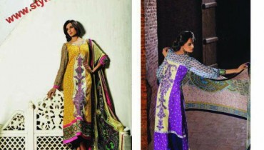 KESA Lawn Collection By Sana Samia's 2012-002