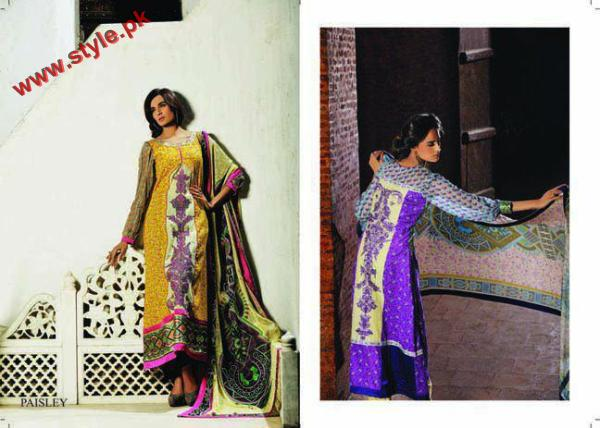KESA Lawn Collection By Sana Samias 2012 002 pakistani dresses
