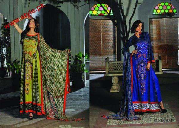 KESA Lawn Collection By Sana Samias 2012 003 pakistani dresses