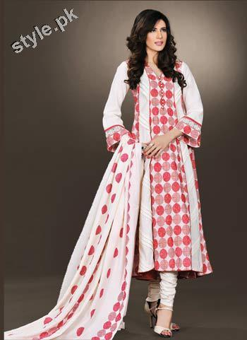 Latest Bareeze Winter Arrivals 2012 for Women 1 local designer clothes for women bareeze pakistani brand