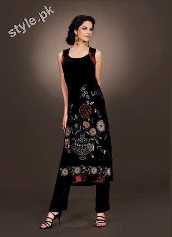 Latest Bareeze Winter Arrivals 2012 for Women 5 local designer clothes for women bareeze pakistani brand