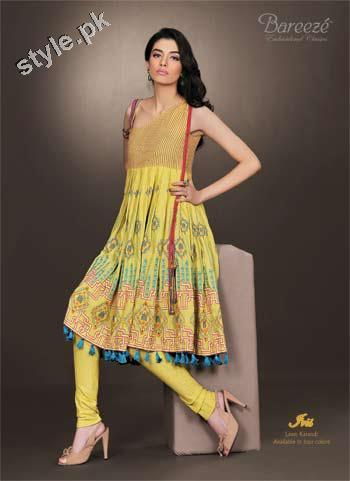 Latest Bareeze Winter Arrivals 2012 for Women 7 local designer clothes for women bareeze pakistani brand