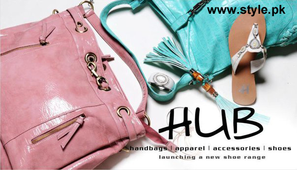 Latest Fashion Handbags Shoes Accessories 2012 by HUB 6 shoes and bags local accessories for girls