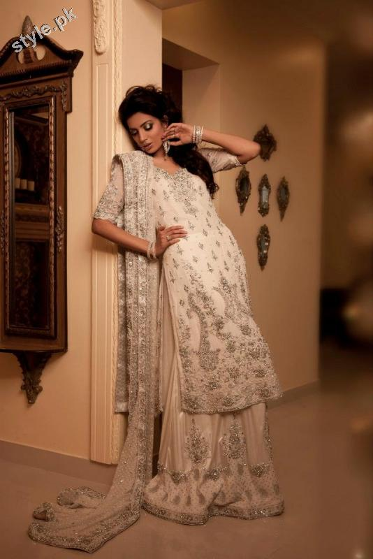 Latest Formal Bridal Dresses 2012 by Maria B 1 designer maria b local designer clothes for women