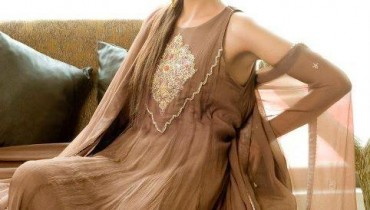 Latest Party Wear By Kotak For Women 2012-003