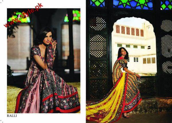 Latest Sana Samias Lawn Collection 2012 004 pakistani dresses