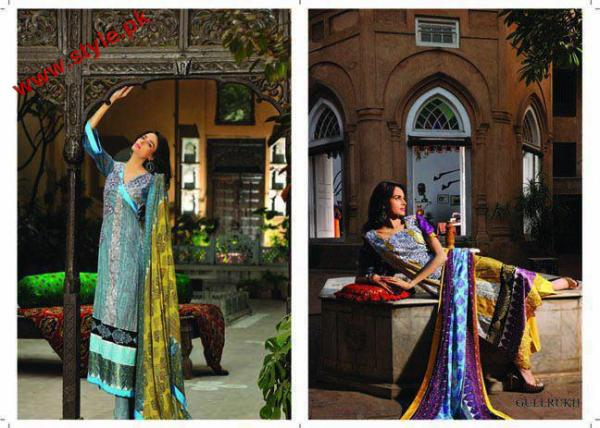 Latest Sana Samias Lawn Collection 2012 005 pakistani dresses