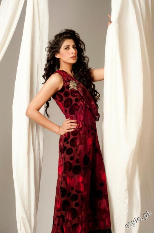 Latest Sehyr Anis Semi Formal Collection 2012 for Girls 1 designer dresses