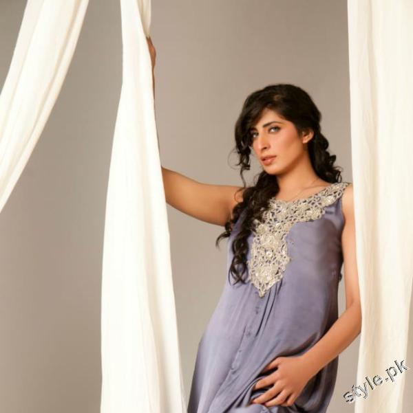 Latest Sehyr Anis Semi Formal Collection 2012 for Girls 5 designer dresses