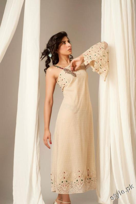 Latest Sehyr Anis Semi Formal Collection 2012 for Girls 6 designer dresses