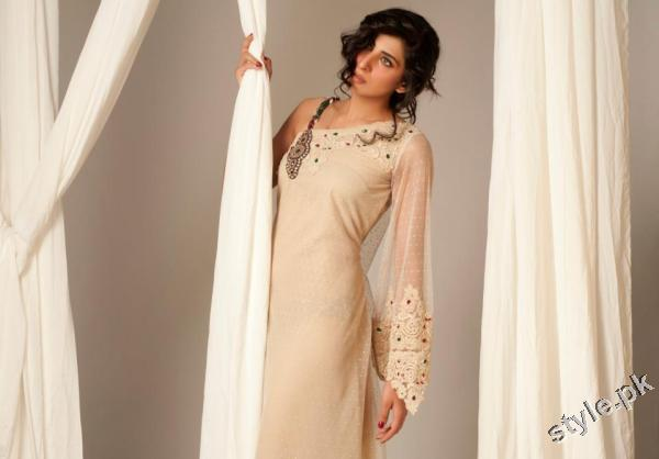 Latest Sehyr Anis Semi Formal Collection 2012 for Girls 7 designer dresses