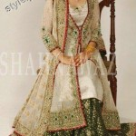 Latest fashion Walima dresses 2012 in Pakistan 10