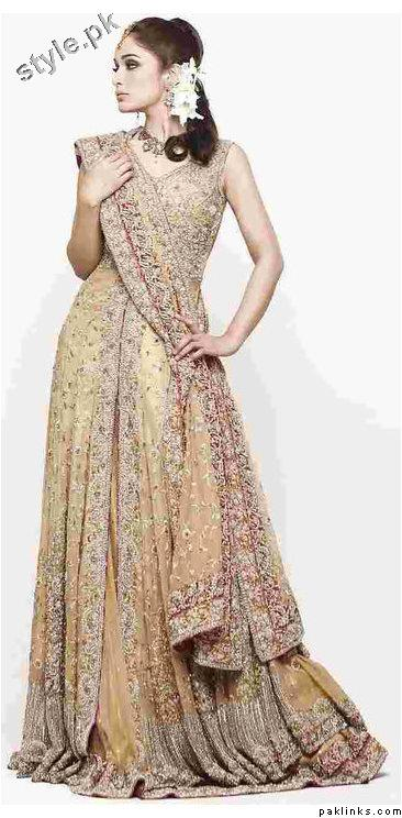 Latest fashion Walima dresses 2012 in Pakistan 13 bridal dresses